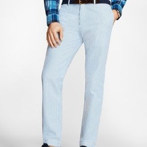 Louis Raphael seer sucker pants